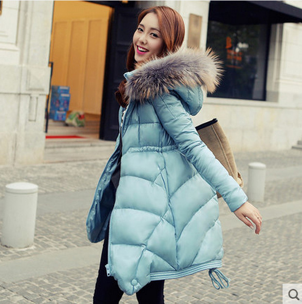 Female Winter Jacket Slim New Women's Down Jacket And Long Sections Casual Collar Loose Coat(China (Mainland))