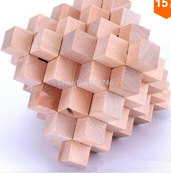 Free shipping education toys Puzzles Toy 32 Sticks Large Pineapple Balls Kong Ming Lock christmas gift(China (Mainland))