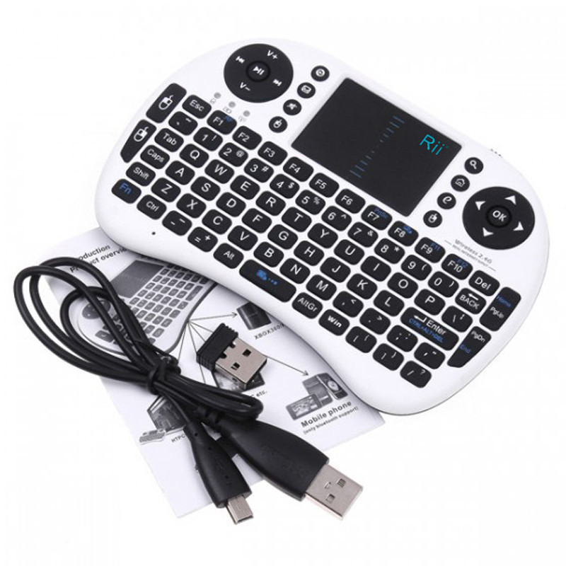 For Rii I8 Mini Bluetooth Touchpad Keyboard with Mouse for PC/PAD/360XBox/PS3/Google Android TV Box/HTPC/IPTV(China (Mainland))