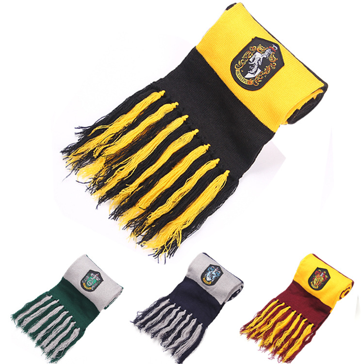 2017 Sale Real Scarf Gryffindor Winter Warm Ravenclaw College Kids Slytherin School Children Hufflepuff Harry Potter Scarves(China (Mainland))