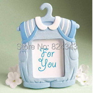 cute baby themed picture frame blue clothes photo frames baby shower