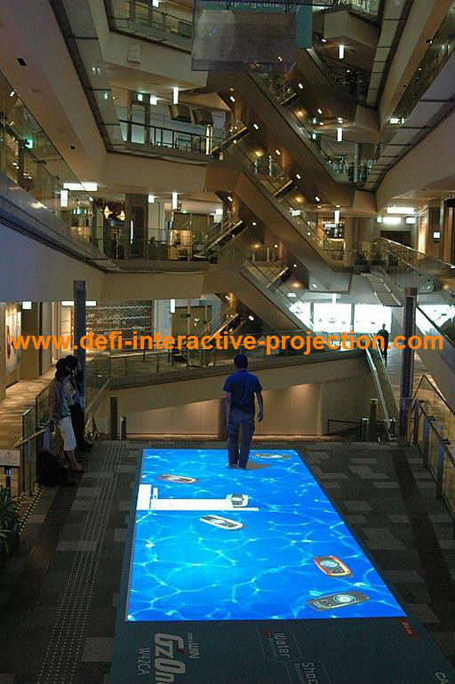 Good price Interactive Floor with 118 effects for advertising,game,dance,exhibition(China (Mainland))