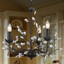 European Style Creative Crystal Chandelier Fashion Vintage lustres Crystal Light Modern Home Lighting Home Decorations(China (Mainland))