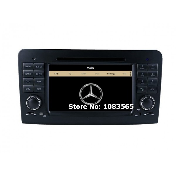 For Mercedes Benz GL-Class X164 2007 - 2012 Car DVD Player GPS Navigation Stereo Radio 1080P HD Screen Multimedia System(China (Mainland))