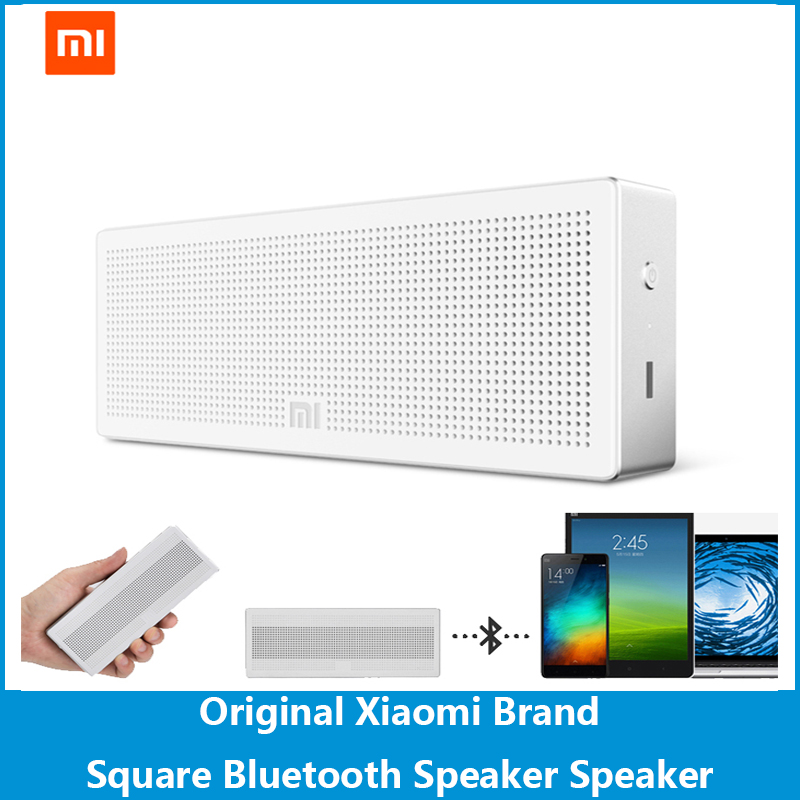 Newest Original Xiaomi Square Bluetooth Speaker Portable Wireless Mini Square Box Subwoofer Speaker For IPhone And Android Phone<br><br>Aliexpress