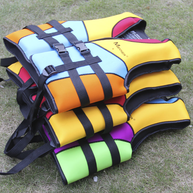 Teen or children close-fitting vest bearing 20-45KG inflatable life vest for swimming surfing drifting life jackets(China (Mainland))