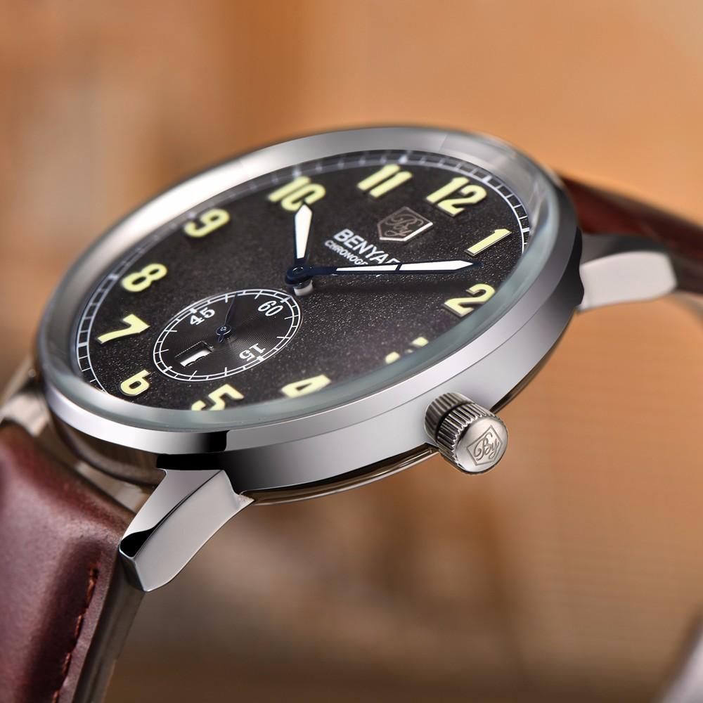 Повседневная Мужчины Бизнес Часы Водонепроницаемые Ремень Из Натуральной Кожи Модный Бренд Кварцевые Наручные Часы для Мужчин Календарь Часы montre homme