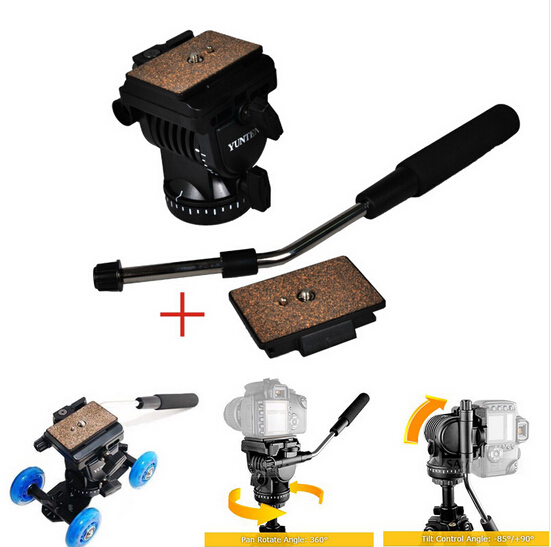 Hot Sale YT-950 Professional Photography DSLR DV Hydraulic Pressure Fluid Tripod Head For Shooting Filming Studio Video Camera<br><br>Aliexpress