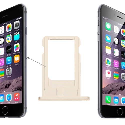 High Quality Card Tray Replacement for iPhone 6(Grey)