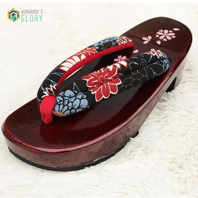 2016 прибытие Летом женская сандалии Японский Гета кэндлнат сабо Обувь женщина женщины ...
