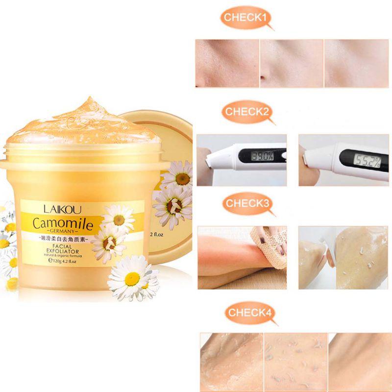 Natural Facial Scrub/Go Cutin Face Exfoliating Body Cream Whitening Gel 120g M95 TQ