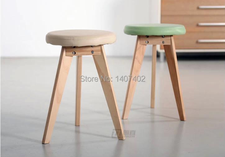 livraison gratuite en bois tabouret mode petit banc de selles sp ciales repas simple bas ikea. Black Bedroom Furniture Sets. Home Design Ideas