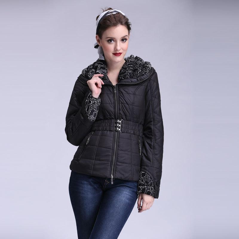 Женские пуховики, Куртки 2015 boruoss W1299 женские куртки