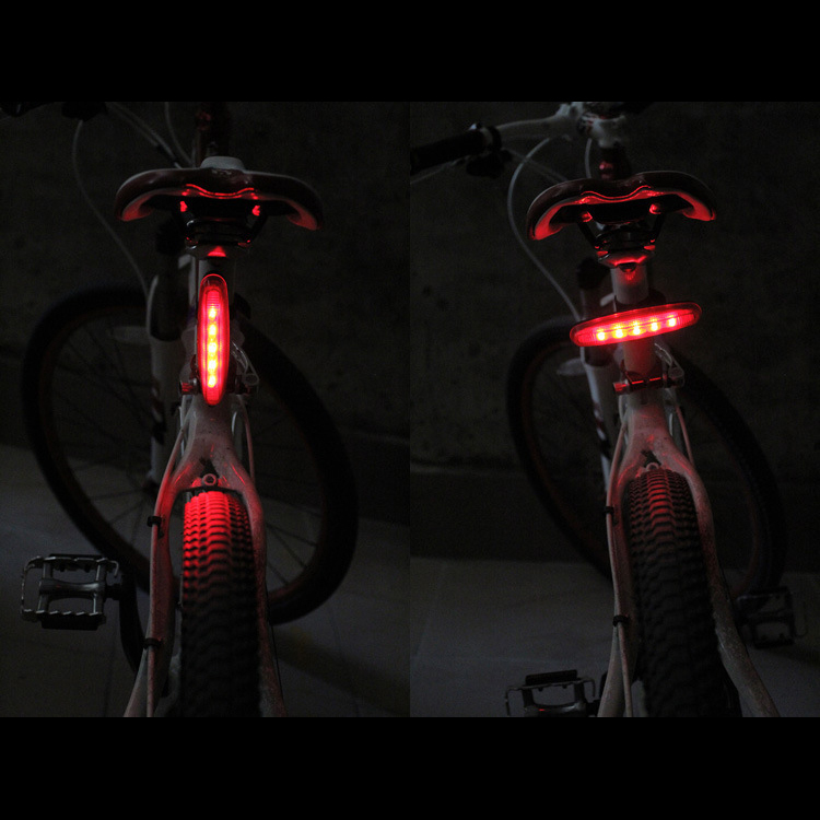 LED Bike Tail Light – 5 LED 7 Mode waterproof