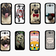 For samsung galaxy grand prime Case Cute Pug Dog custom Printed Mobile phone Accessories Cover For samsung galaxy grand prime