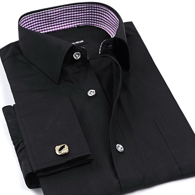Popular single cuff dress shirt buy cheap single cuff for Single cuff dress shirt