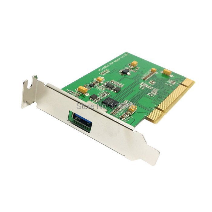 10pcs / lots Single Port Super speed USB 3.0 PCI 16x 32x Interface Card for PC with Low Profile Bracket ,By UPS DHL TNT Fedex(China (Mainland))