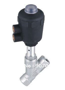 1/2'' TXJZF Angle Seat Valves Stainless Steel Valves With Plastic Actuators TXJZF-15(China (Mainland))