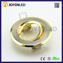 Promoción más barato del color del oro mazorca llevó el proyector gu10 mr16 accesorio fama recorta(China (Mainland))