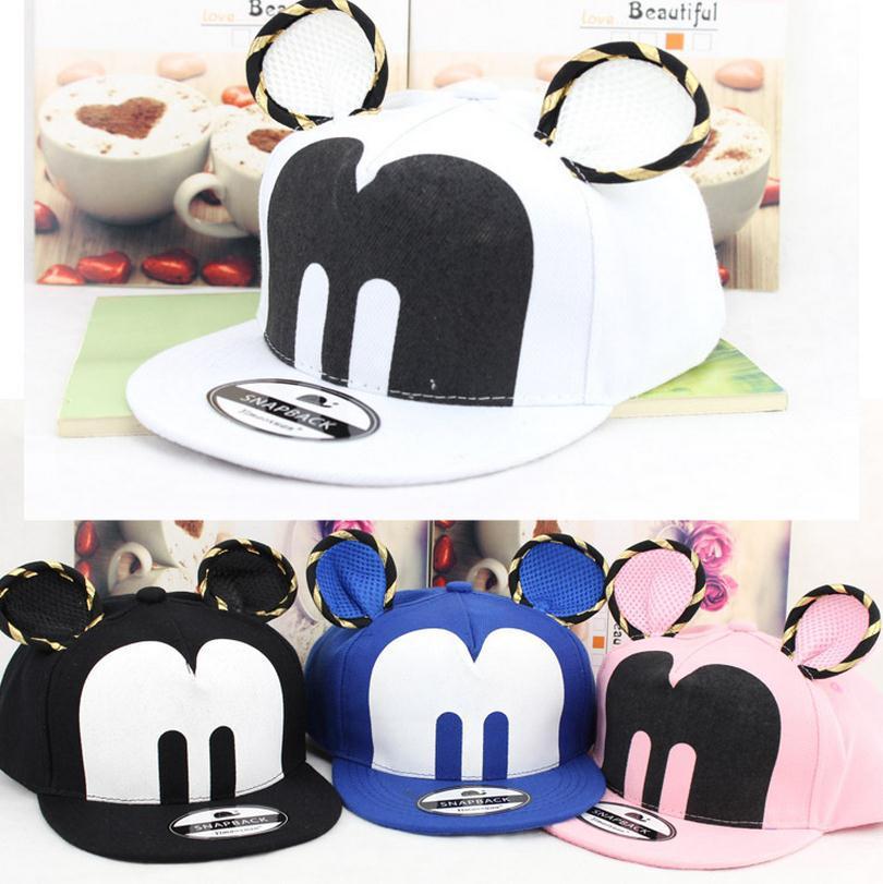 2015 New Retail Kids Baseball Caps Baby girls Hats & Caps Hip hop Stereoscopic ear Cap Baby Boys Girls Peaked cap(China (Mainland))