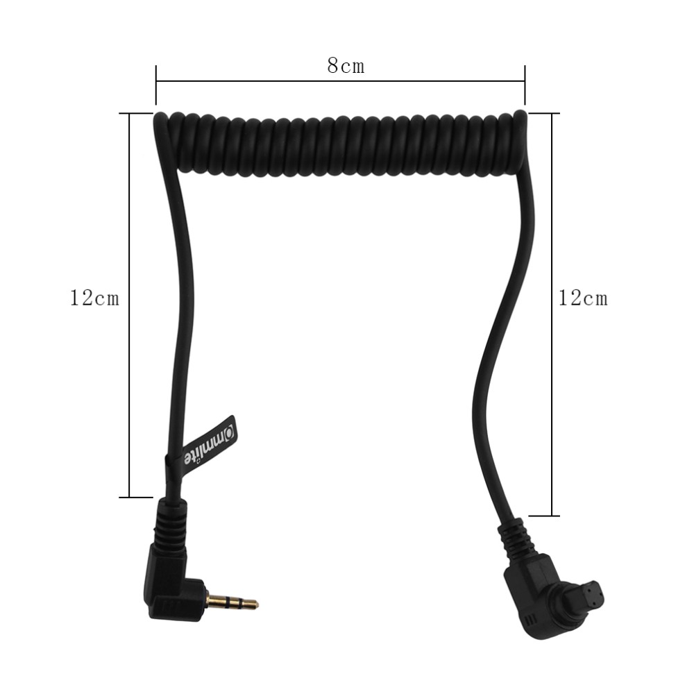 image for 2.5mm 3C Remote Switch Shutter Release Cable For Canon EOS 6D 7D 50D 4