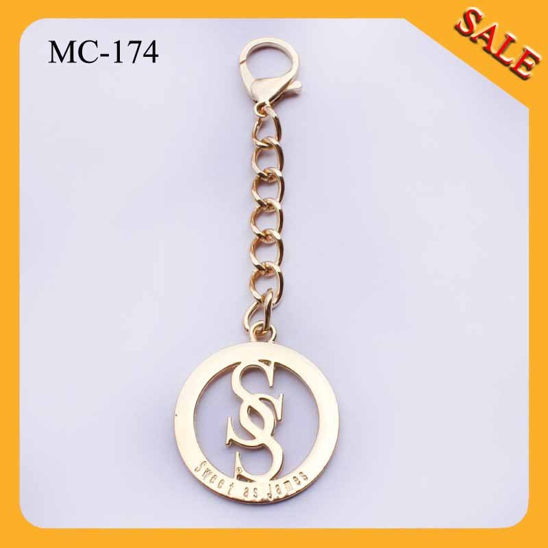 MC174 Made bag hardware custom handbag metal label metal tag brand with your design(China (Mainland))