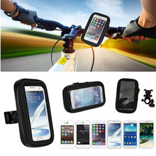 Waterproof Motorcycle Bicycle Cycling GPS Case + Mobile Phone Holder for Samsung Galaxy S7 S7 edge S6 Edge+ A7 J7 for LG G3 MX5(China (Mainland))