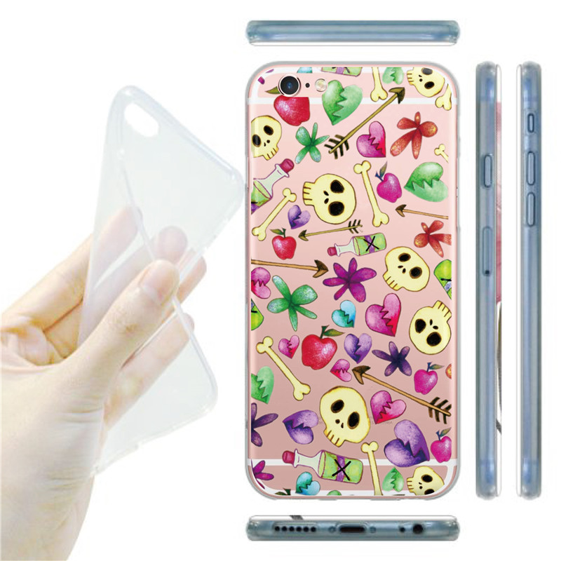 Funny Hear Tooth Fresh Fruit Pineapple Style Cell Phone Case Cover For iPhone 6 6s plus