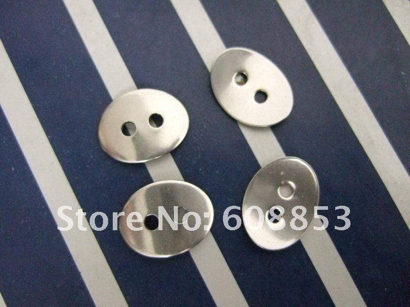 100pcs DIY Accessories Stainless Steel Button For Wrap Bracelets 2mm Hole Fit for 1.5mm Leather<br><br>Aliexpress