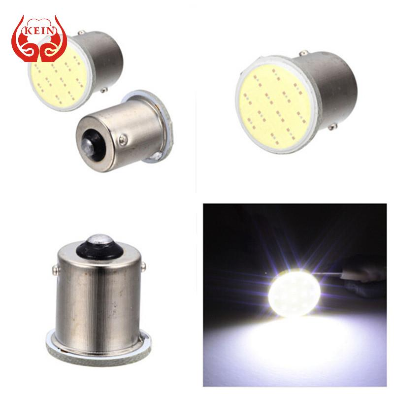 KEIN 1piece Super White cob p21w led 12SMD 1156 ba15s 12v bulb RV Trailer Truck car styling Light parking Auto led Car lamp(China (Mainland))