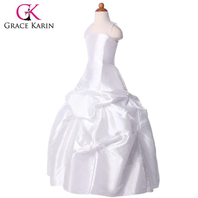 Новое поступление грейс карин тафта детские платья принцесса свадебное театрализованное ...