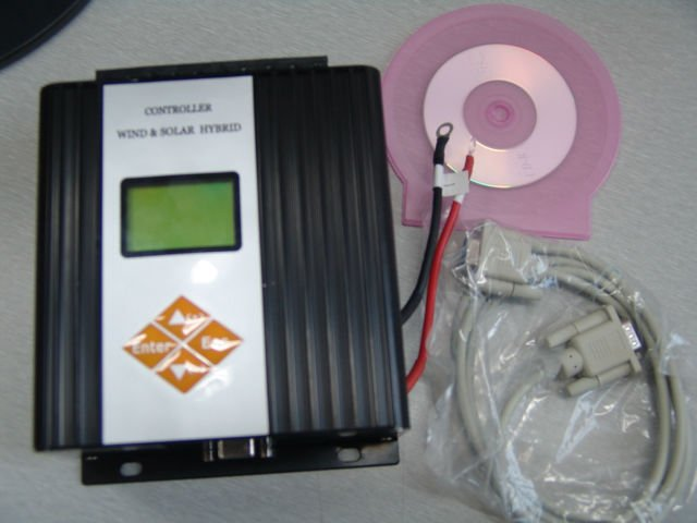 LCD wind solar hybrid controler charger with software/deep cycle battery charger(China (Mainland))