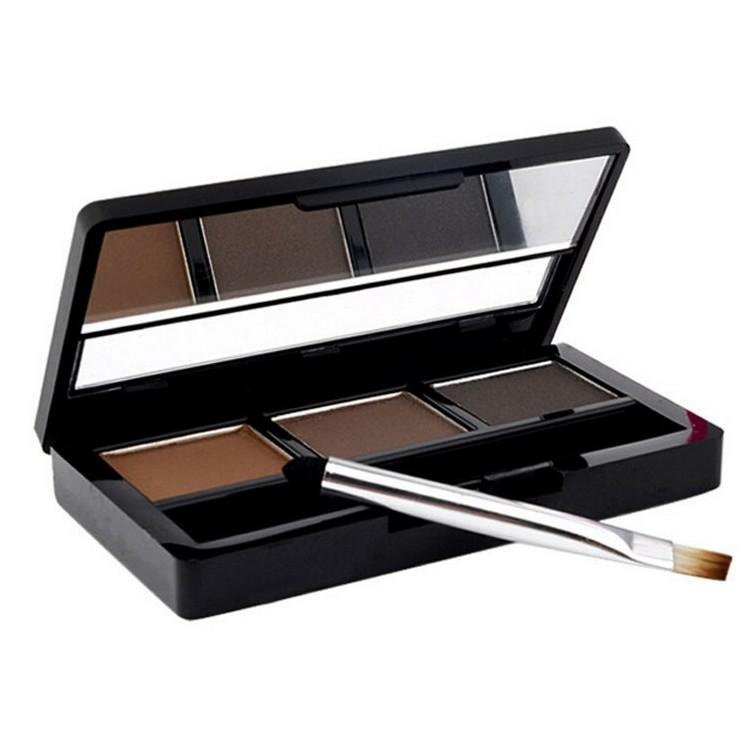 Гаджет  Eye Brow Makeup Kit Set 3 Color Waterproof Eye Shadow Eyebrow Powder Make Up Palette Women Beauty Cosmetic  None Красота и здоровье