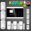 English Russian French Spainish Voice Dual Net Touch keypad TFT Android iOS APP GSM PSTN Dual