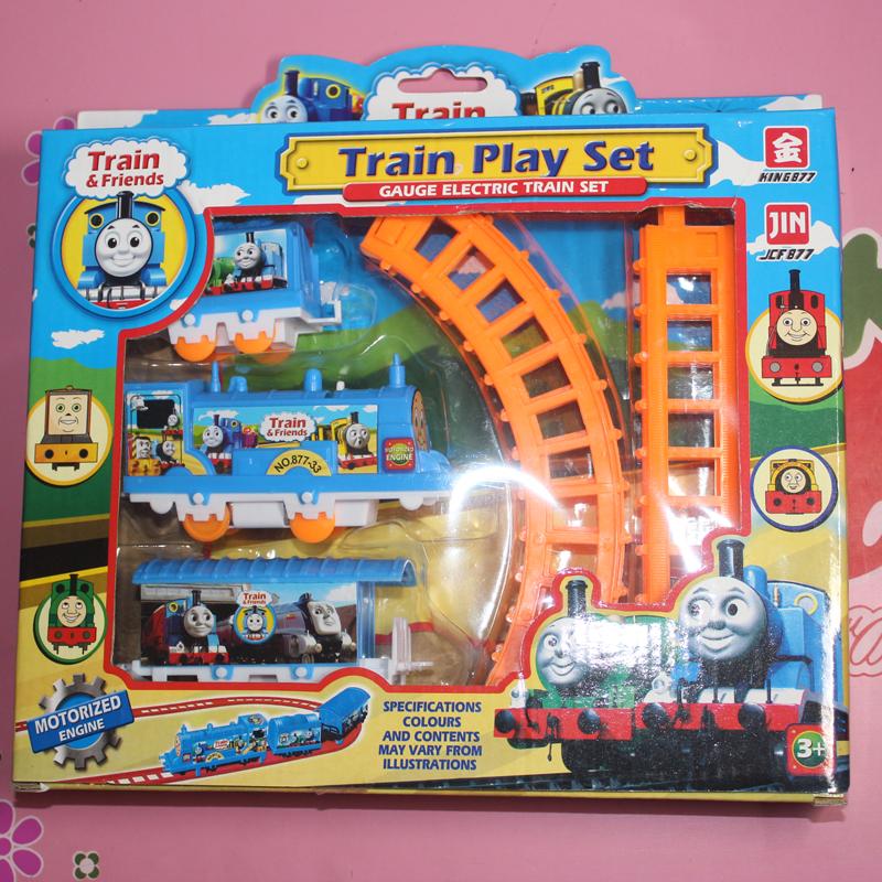 Гаджет  Thomas train set small electric trains thomas train track beautiful small toy free shipping None Игрушки и Хобби