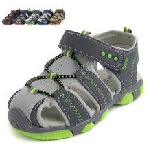 2016 Summer Fashion Outdoor sandals Children Sport Shoes Little Boys Anti-slip Sandals kids Baby Boy Breathable Sandals 6colors
