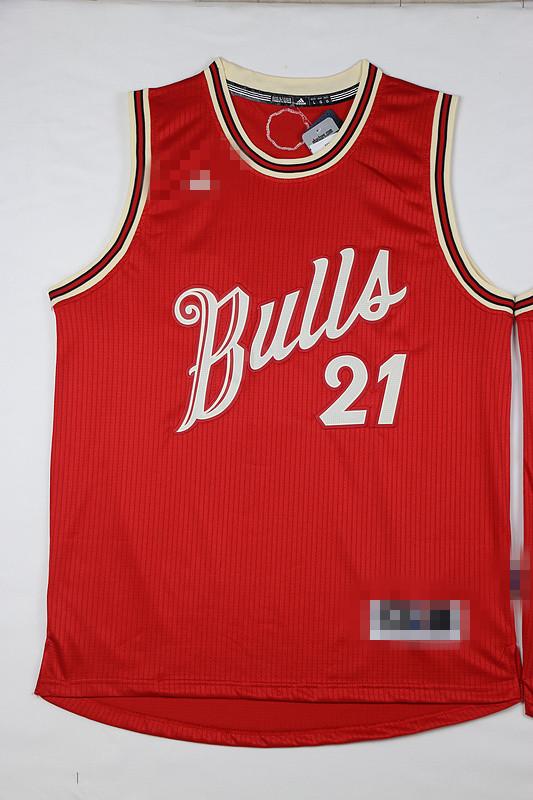 16 years of the new season Christmas night shirt Bulls team on 21 Butler Butler jersey basketball clothes(China (Mainland))