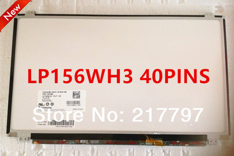 Free Shipping B156XW04 V.5 .0 .6 .1 B156XTN03.2 B156XW03 LTN156AT11 LP156WH3 N156BGE-LB1 N156B6-L0D LTN156AT20 LTN156AT30 40PIN(China (Mainland))