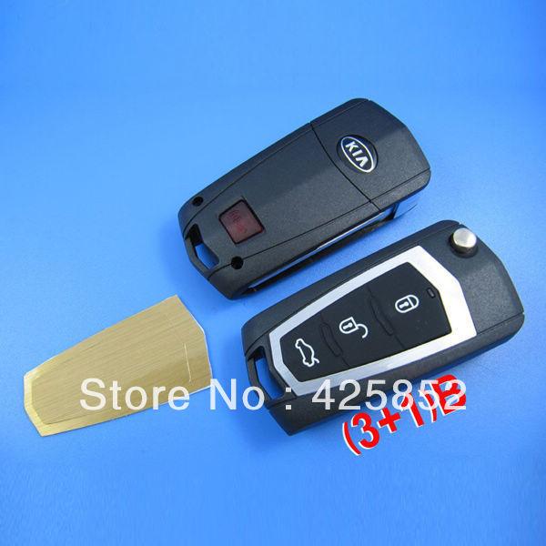 high quality  special offer kIA Cerato modified remote key shell (3+1) button<br><br>Aliexpress