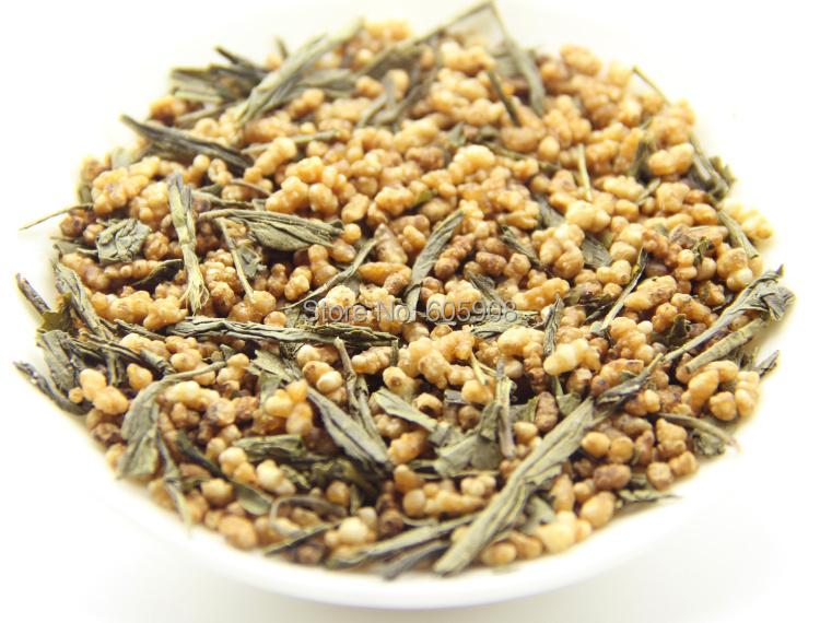 Гаджет  Organic Genmaicha! Japan Roasted Brown Rice Green Tea!500g Free Shipping! None Еда