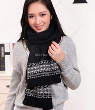 Hot fashion free shipping 30 * 200 cm of wool fibre scarf scarf warm huge unisex printed scarf(China (Mainland))
