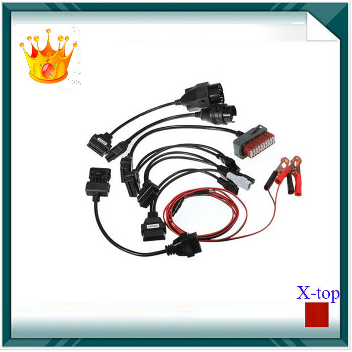 OBD2 Cables For TCS CDP Pro Cars Cables Diagnostic Interface Tool Full set 8 Car Cables Free For autocom CDP ds150e Scanner(China (Mainland))