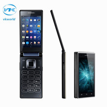 Original VKworld T2 Quad Core Dual-screen Flip 3G Smartphone 8GB ROM 1GB RAM Android 5.1 MTK6580 Dual SIM Cards Mobile Phone - Shopping In Mike's Store store