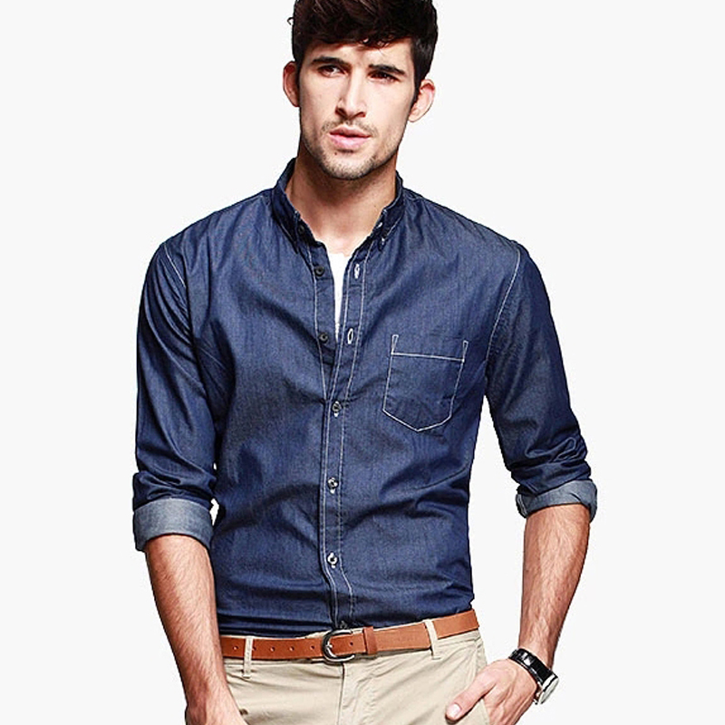 Dark blue jeans for men shirt the image Black shirt blue jeans