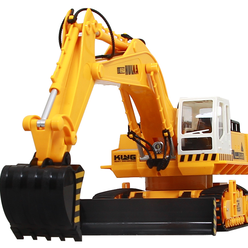 Olympian wireless remote control electric excavator Large charge remote control car toy excavator remote control engineering(China (Mainland))
