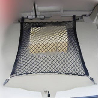 Nylon car rear cargo net trunk storage organizer net for for Mercedes benz car trunk organizer