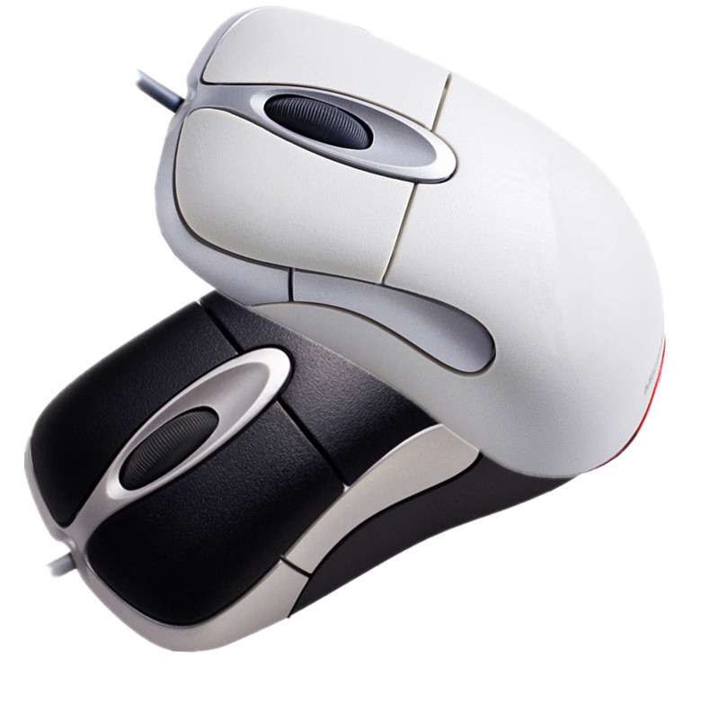 Wholesale IO1.1 USB Wired Gaming Mouse Without Retail Box USB Wired Optical Microsoft IntelliMouse IO 1.1 Mouse Free Shipping(China (Mainland))