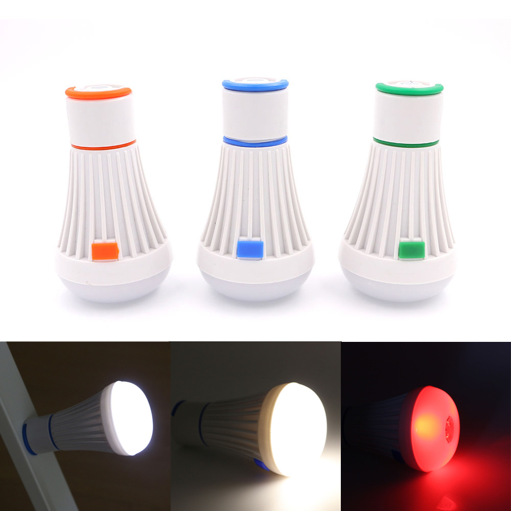 4 Modes LED Camping Lantern Portable 3W LED+6 LED Ball Bulbs Led Lanterns Hiking Fishing Lights Lantern battery AAA OR 18650