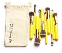 10Pcs kabuki Professional Makeup Brushes Set Beauty Cosmetic Eyeshadow Powder Pinceis Styling Tools Make up Brush