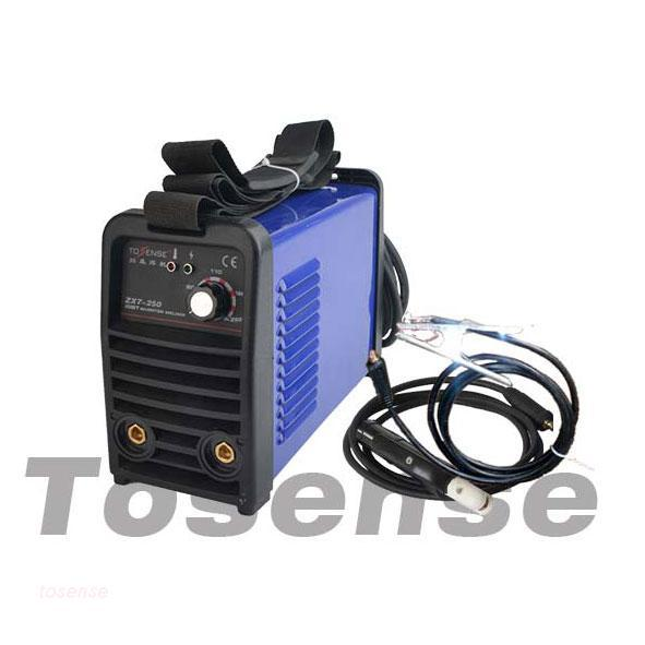 portable single phase 220v 250a mma 250 dc tec electrical arc invert welding equipment online(China (Mainland))